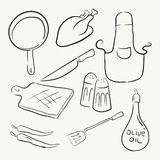 Cooking Kitchen Equipment  Royalty Free Stock Photo