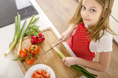 Cooking in the kitchen. Royalty Free Stock Image