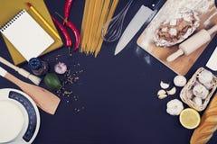 Cooking kitchen hero header stock photos