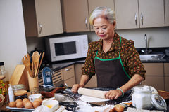 Cooking lady Royalty Free Stock Images
