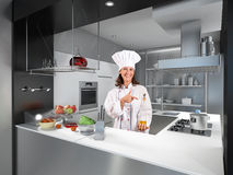 Cooking lesson Stock Images