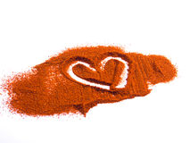 Cooking with love. Heart in spices. Cooking with love Royalty Free Stock Images