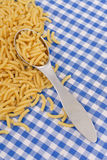 Cooking with Macaroni Pasta Royalty Free Stock Photography