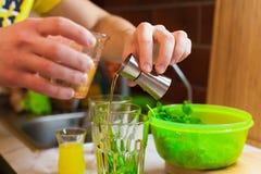 Cooking mahito Stock Image