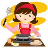 Cooking Mama Royalty Free Stock Photography