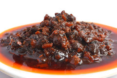 Cooking meat sauce. With white background Stock Image