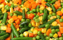 Cooking Mixed Vegetables Stock Image