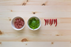 Cooking mixture Royalty Free Stock Photo