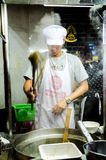 Cooking noodle Stock Photography