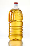 Cooking Oil. On clean background Stock Photos