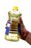 Cooking oil bottle Royalty Free Stock Photography