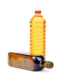 Cooking oil bottles Royalty Free Stock Photos