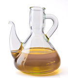 Cooking oil can with olive oil Royalty Free Stock Image