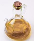 Cooking oil can with olive oil Royalty Free Stock Photography