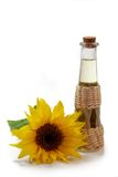 Cooking Oil with Sunflower Royalty Free Stock Images