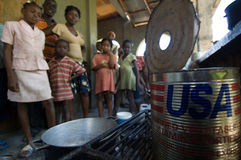 Cooking Oil in Use