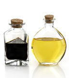 Cooking Oil And Vinegar Royalty Free Stock Image