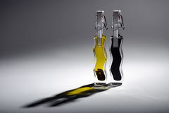 Cooking oil and vinegar Royalty Free Stock Photography