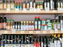 Cooking oils Stock Photos