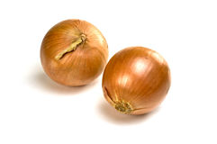 Cooking onions Royalty Free Stock Photo