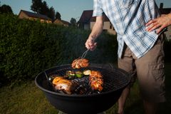 cooking out Stock Photography