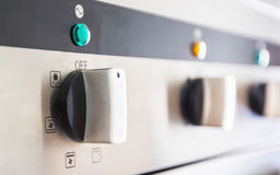 Cooking Oven Control Panel Royalty Free Stock Image