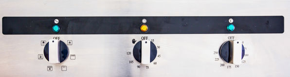 Cooking Oven Control Panel II Stock Photos