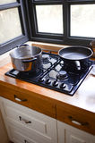 Cooking pan and pot Royalty Free Stock Photography