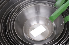 Cooking pans Royalty Free Stock Photography