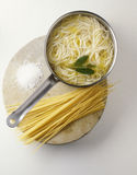 Cooking pasta. Food, gastronomy, cuisine,cookery Stock Image