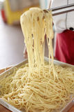 Cooking pasta a Royalty Free Stock Images