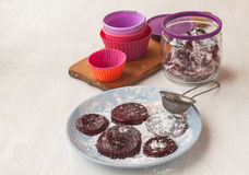 Cooking pastilles of strawberries Royalty Free Stock Photography