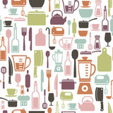 Cooking pattern Royalty Free Stock Images