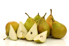Cooking pears  Stock Photos