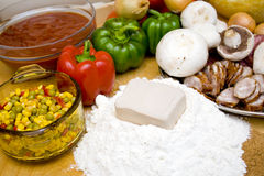 Cooking pizza time! Stock Photography