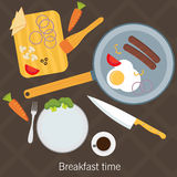 Cooking poster design. Vector illustration Stock Photography