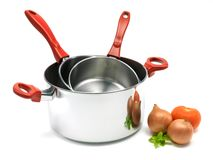 Cooking Pot Stock Photo