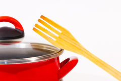 Cooking pot royalty free stock photos