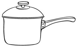 Cooking pot Stock Image