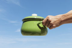 Cooking pot. Royalty Free Stock Images