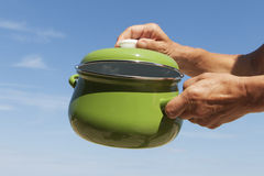 Cooking pot. Stock Photo