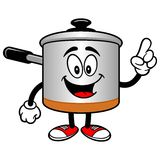 Cooking Pot Talking Royalty Free Stock Photography