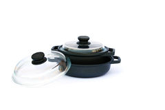 Cooking pots Royalty Free Stock Photo
