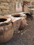 Cooking Pots, Herculaneum Stock Images