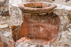 Cooking Pots, Herculaneum Stock Image