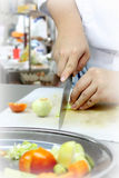 Cooking preparation Stock Photography
