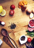 Cooking Preparation Culinary Ingredient Kitchen Concept Royalty Free Stock Image
