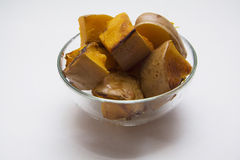 Cooking pumpkin ragout Stock Photo