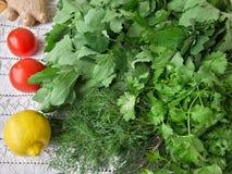 Cooking quinoa mushroom ginger gratin Stock Image