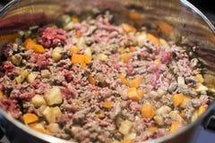 Cooking ragu sauce Stock Photo